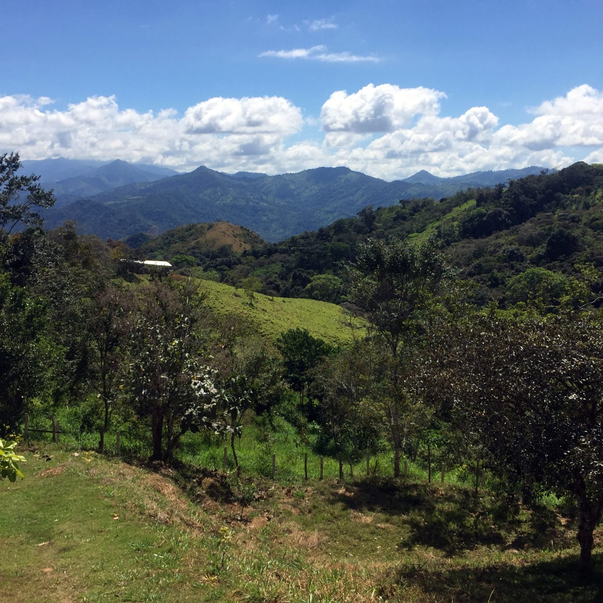 The views of the picturesque valley of river Terraba are absolutely breathtaking.