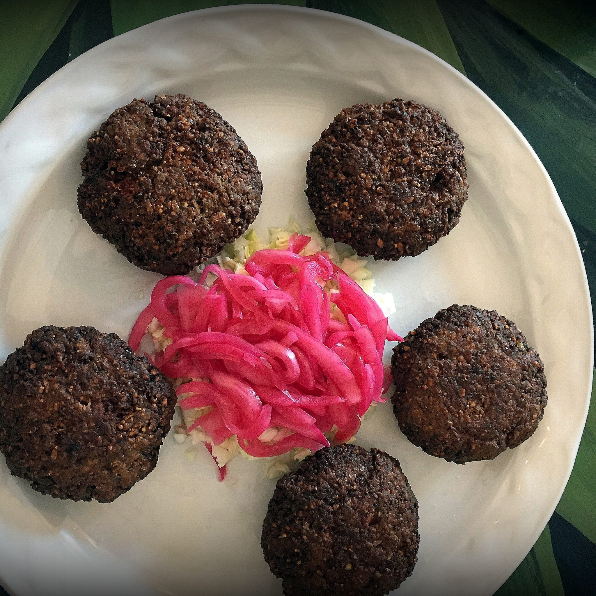 Kibis, Yucatan variation on middle eastern falafel, arrived in the peninsula with Lebanese immigrants.