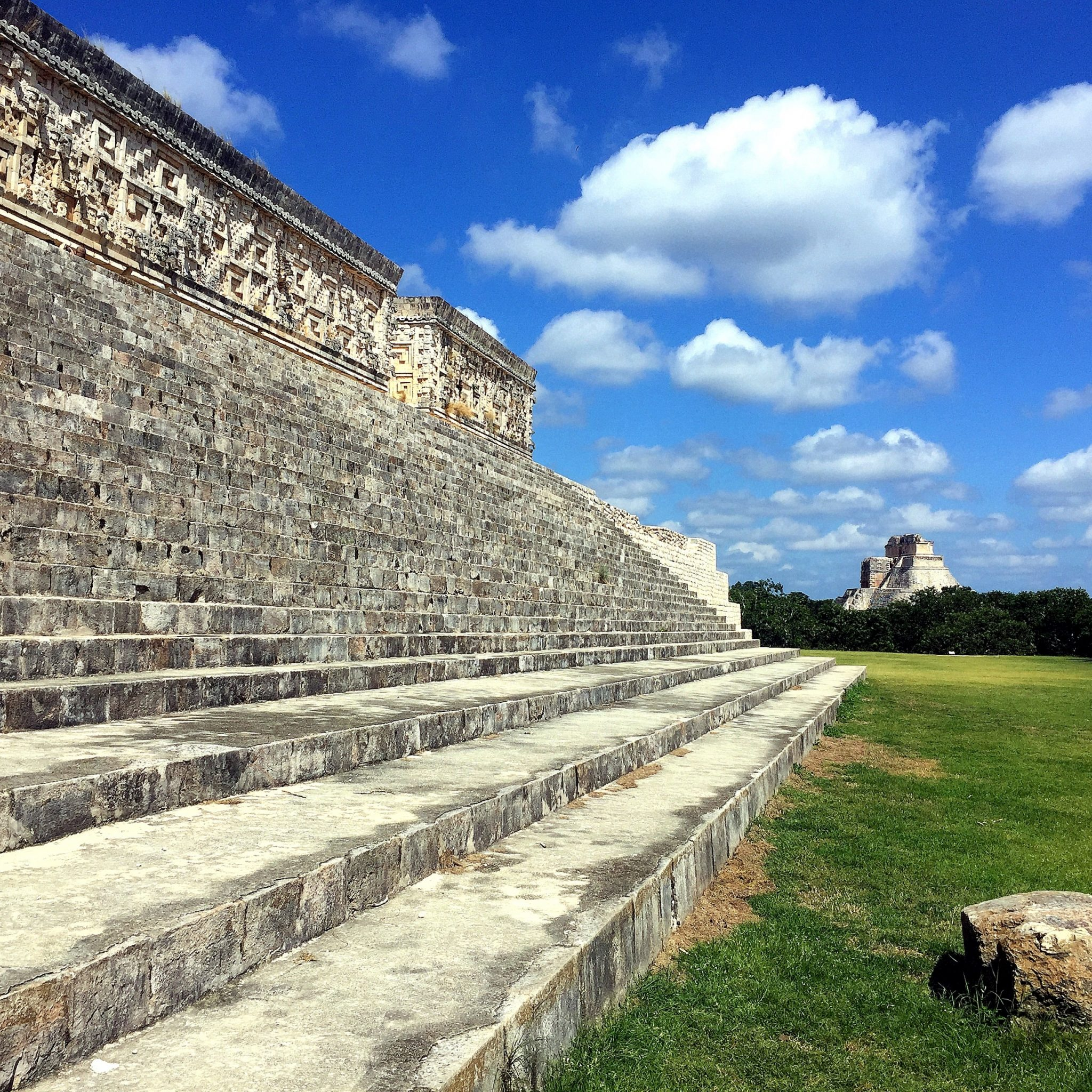 Uxmal makes you feel as if you were taken back in time to when Mayan ceremonies were still taking place.