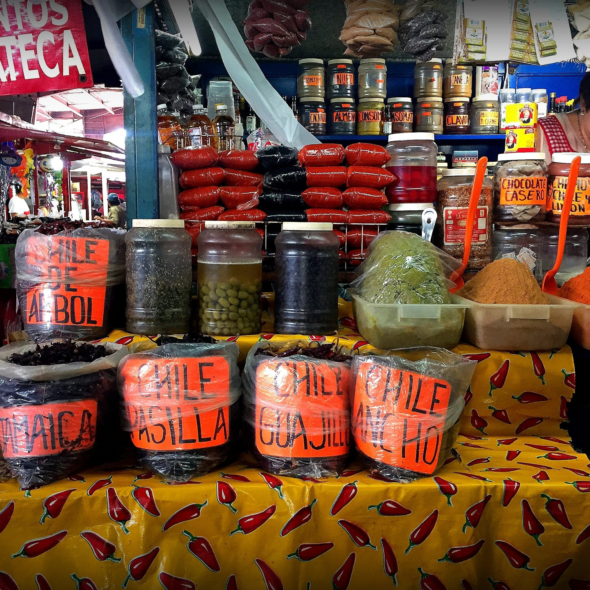 Get your culinary souvenirs at one of the city markets.