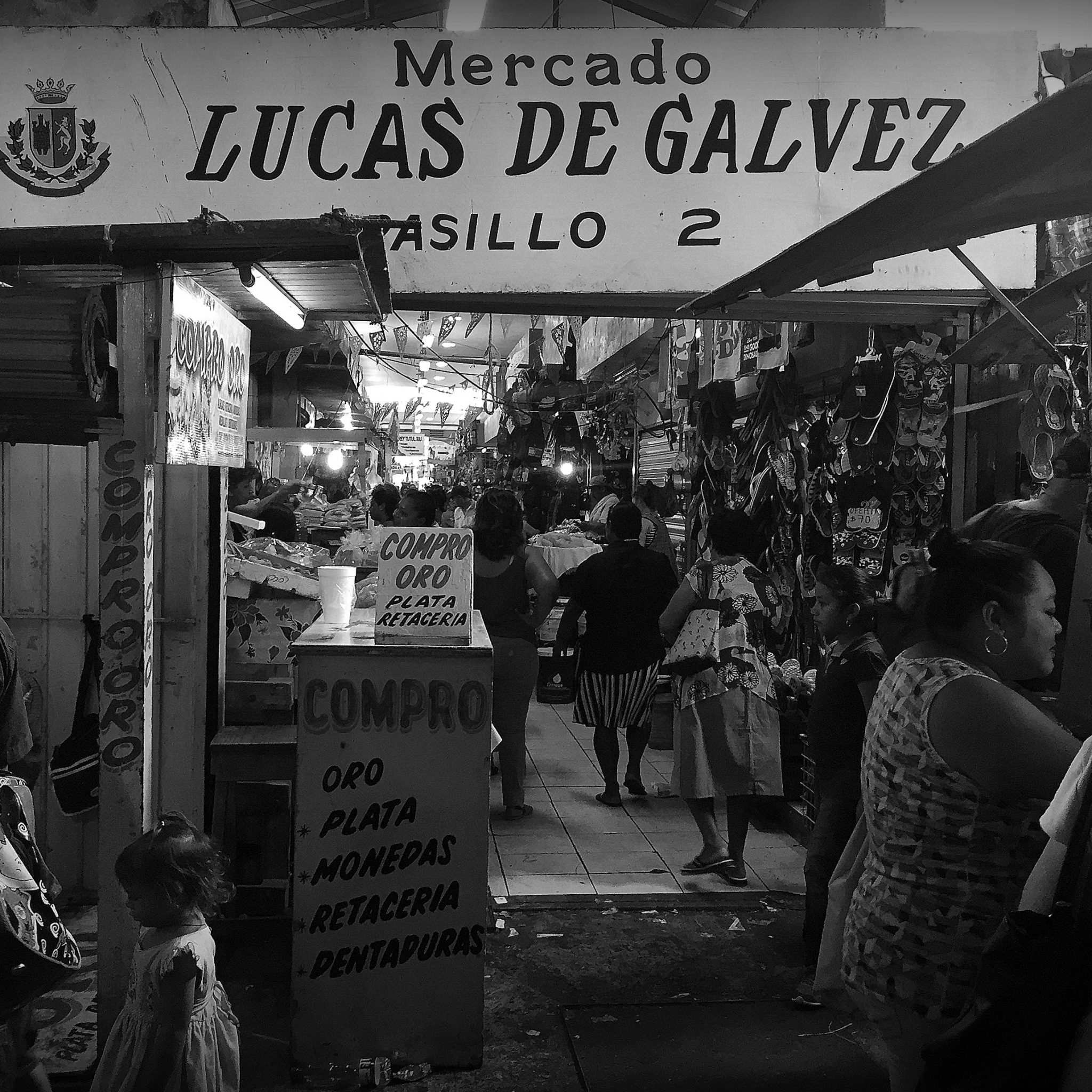Local markets, like Mercado Lucas De Galvéz, are bursting with local produce. And bustling with local life.