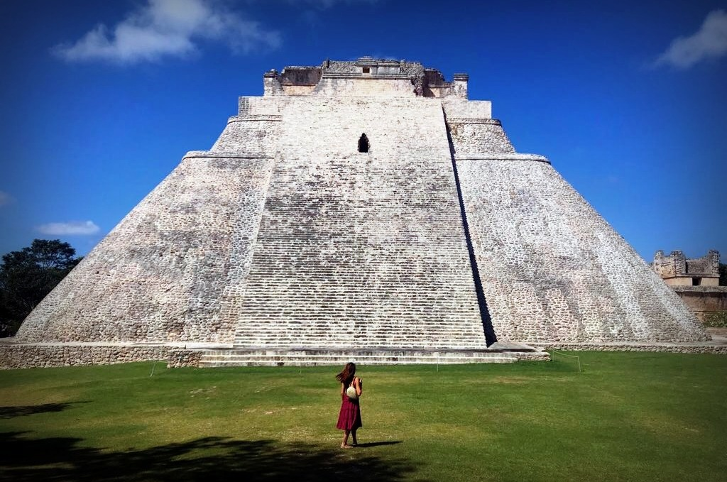 Me, Myself and Maya. Skip Chichen Itza and take in the grandeur of the pyramids in more peace and quiet.