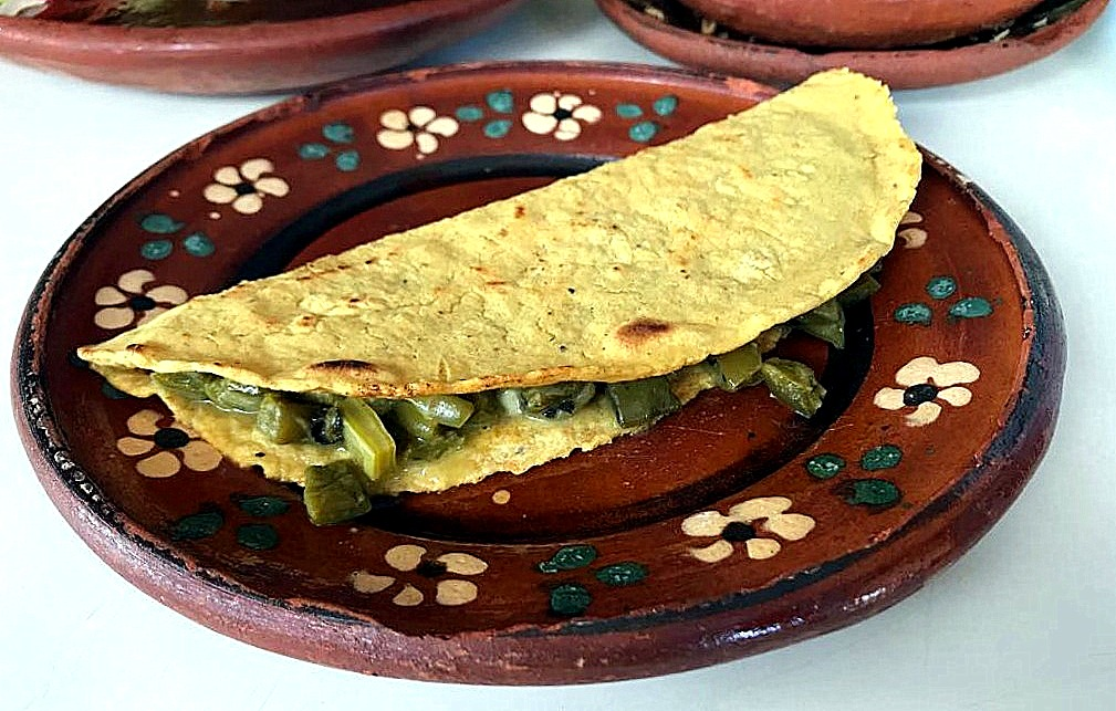 Quesadillas with cactus anyone? Veggie visitors will be spoilt for choice.