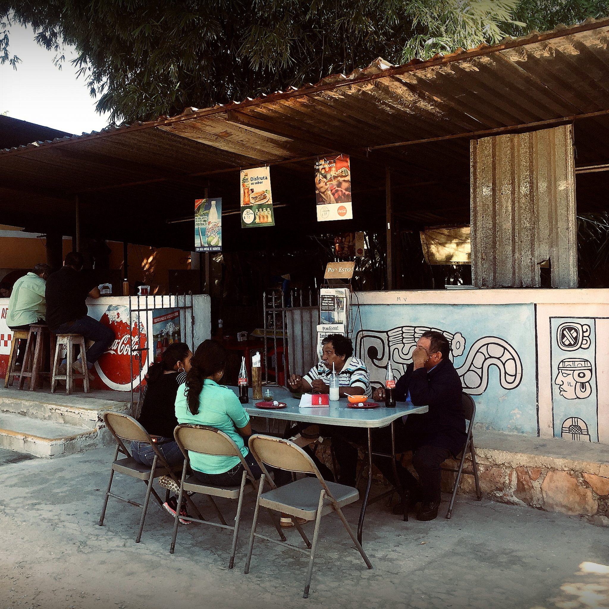 Road side restaurants offer the most authentic flavours and a chance to chat with friendly locals.
