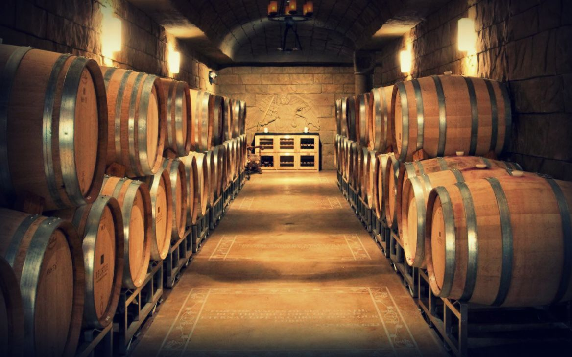 Designate a driver and head to charming Reustle Vineyards to indulge in wine tastings in a cave.