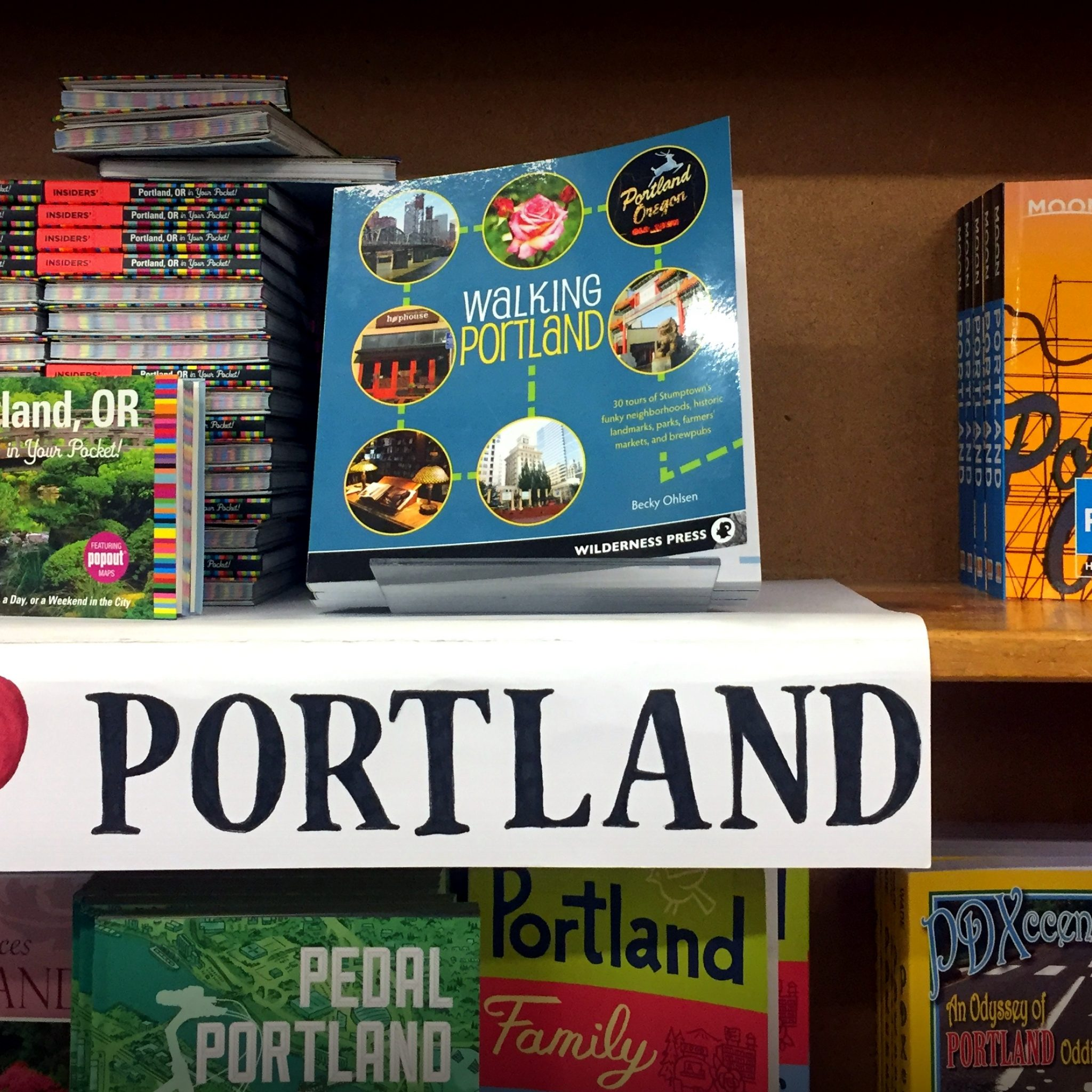 Grab a good old paperback guide to Portland and plan the rest of your stay while sipping a latte in the Powell's on-site cafe.